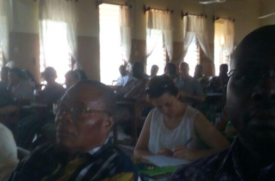 Trabajando juntos en Benin